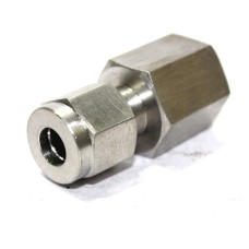 SS Female Adapter Compression Double Ferrule OD Fitting Stainless Steel 304.